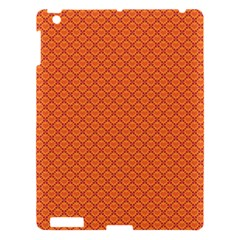 Heart Orange Love Apple Ipad 3/4 Hardshell Case by Mariart