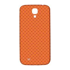 Heart Orange Love Samsung Galaxy S4 I9500/i9505  Hardshell Back Case by Mariart