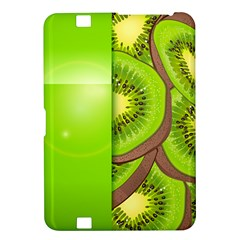 Fruit Slice Kiwi Green Kindle Fire Hd 8 9  by Mariart