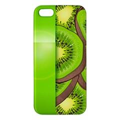 Fruit Slice Kiwi Green Iphone 5s/ Se Premium Hardshell Case by Mariart