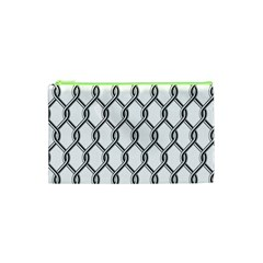 Iron Wire Black White Cosmetic Bag (xs) by Mariart