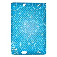 Leaf Blue Snow Circle Polka Star Amazon Kindle Fire Hd (2013) Hardshell Case by Mariart