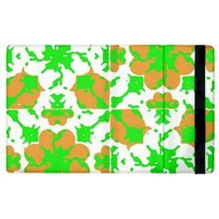 Graphic Floral Seamless Pattern Mosaic Apple Ipad 3/4 Flip Case by dflcprints