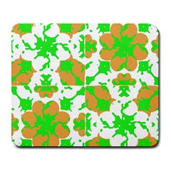 Graphic Floral Seamless Pattern Mosaic Large Mousepads by dflcprints