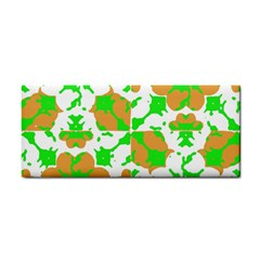 Graphic Floral Seamless Pattern Mosaic Cosmetic Storage Cases by dflcprints