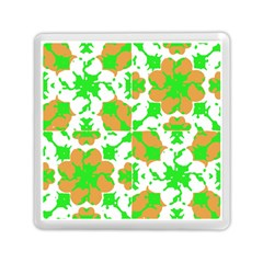 Graphic Floral Seamless Pattern Mosaic Memory Card Reader (square)  by dflcprints