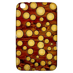 Wood And Gold Samsung Galaxy Tab 3 (8 ) T3100 Hardshell Case  by linceazul