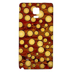 Wood and gold Galaxy Note 4 Back Case