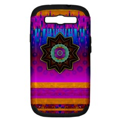 Air And Stars Global With Some Guitars Pop Art Samsung Galaxy S Iii Hardshell Case (pc+silicone) by pepitasart