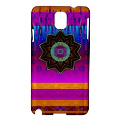 Air And Stars Global With Some Guitars Pop Art Samsung Galaxy Note 3 N9005 Hardshell Case by pepitasart