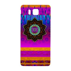 Air And Stars Global With Some Guitars Pop Art Samsung Galaxy Alpha Hardshell Back Case by pepitasart