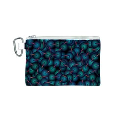 Background Abstract Textile Design Canvas Cosmetic Bag (s) by Nexatart