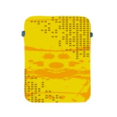 Texture Yellow Abstract Background Apple Ipad 2/3/4 Protective Soft Cases by Nexatart