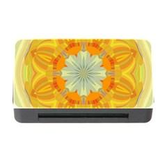 Sunshine Sunny Sun Abstract Yellow Memory Card Reader With Cf by Nexatart