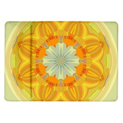 Sunshine Sunny Sun Abstract Yellow Samsung Galaxy Tab 10 1  P7500 Flip Case by Nexatart