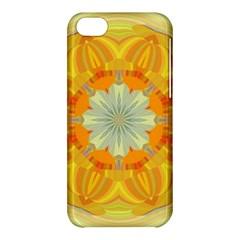 Sunshine Sunny Sun Abstract Yellow Apple Iphone 5c Hardshell Case by Nexatart