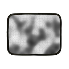 Puzzle Grey Puzzle Piece Drawing Netbook Case (small)  by Nexatart