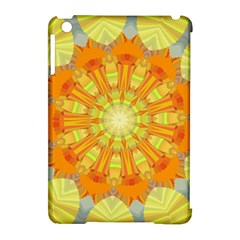 Sunshine Sunny Sun Abstract Yellow Apple Ipad Mini Hardshell Case (compatible With Smart Cover) by Nexatart