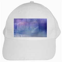 Business Background Blue Corporate White Cap by Nexatart
