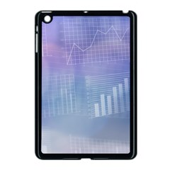 Business Background Blue Corporate Apple Ipad Mini Case (black) by Nexatart