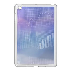 Business Background Blue Corporate Apple Ipad Mini Case (white) by Nexatart