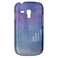 Business Background Blue Corporate Galaxy S3 Mini by Nexatart