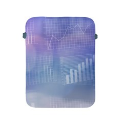 Business Background Blue Corporate Apple Ipad 2/3/4 Protective Soft Cases by Nexatart