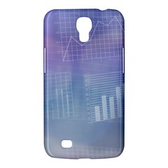 Business Background Blue Corporate Samsung Galaxy Mega 6 3  I9200 Hardshell Case by Nexatart