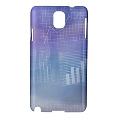 Business Background Blue Corporate Samsung Galaxy Note 3 N9005 Hardshell Case by Nexatart