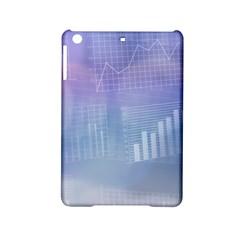 Business Background Blue Corporate Ipad Mini 2 Hardshell Cases by Nexatart