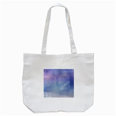 Business Background Blue Corporate Tote Bag (white) by Nexatart