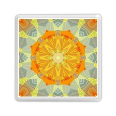 Sunshine Sunny Sun Abstract Yellow Memory Card Reader (square)  by Nexatart