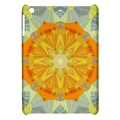 Sunshine Sunny Sun Abstract Yellow Apple Ipad Mini Hardshell Case by Nexatart