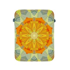 Sunshine Sunny Sun Abstract Yellow Apple Ipad 2/3/4 Protective Soft Cases by Nexatart