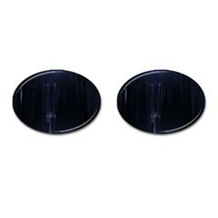Abstract Dark Stylish Background Cufflinks (oval) by Nexatart