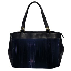 Abstract Dark Stylish Background Office Handbags (2 Sides)  by Nexatart