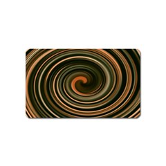 Strudel Spiral Eddy Background Magnet (name Card) by Nexatart