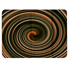 Strudel Spiral Eddy Background Samsung Galaxy Tab 7  P1000 Flip Case by Nexatart