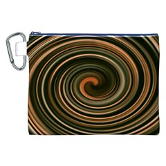 Strudel Spiral Eddy Background Canvas Cosmetic Bag (xxl) by Nexatart