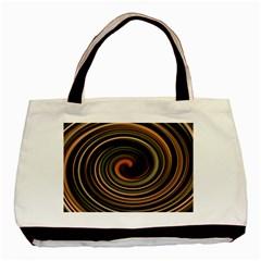 Strudel Spiral Eddy Background Basic Tote Bag by Nexatart