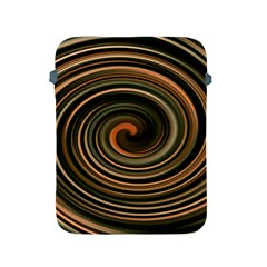 Strudel Spiral Eddy Background Apple Ipad 2/3/4 Protective Soft Cases by Nexatart