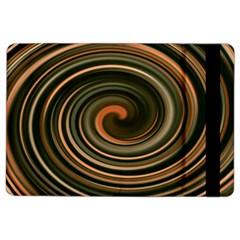 Strudel Spiral Eddy Background Ipad Air 2 Flip by Nexatart