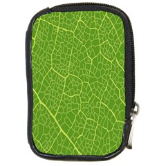 Green Leaf Line Compact Camera Cases by Mariart