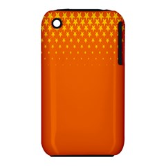 Orange Star Space Iphone 3s/3gs by Mariart