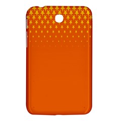 Orange Star Space Samsung Galaxy Tab 3 (7 ) P3200 Hardshell Case  by Mariart