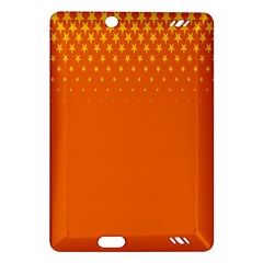 Orange Star Space Amazon Kindle Fire Hd (2013) Hardshell Case by Mariart