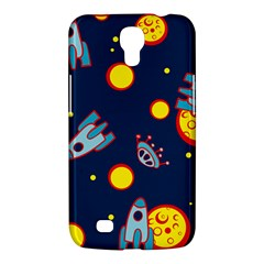 Rocket Ufo Moon Star Space Planet Blue Circle Samsung Galaxy Mega 6 3  I9200 Hardshell Case by Mariart