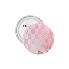 Sakura Flower Floral Pink Star Plaid Wave Chevron 1 75  Buttons by Mariart