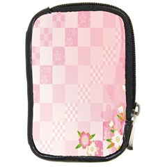 Sakura Flower Floral Pink Star Plaid Wave Chevron Compact Camera Cases by Mariart
