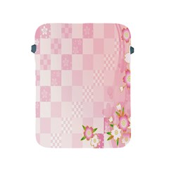Sakura Flower Floral Pink Star Plaid Wave Chevron Apple Ipad 2/3/4 Protective Soft Cases by Mariart